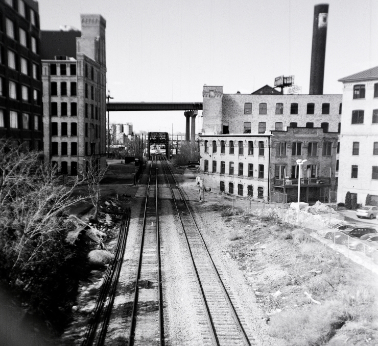 rail tracks from 6th