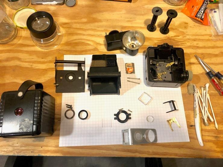 Kodak brownie cleaning